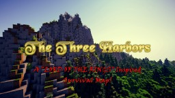 "THE THREE HARBORS: A ""Lord of the Rings"" Inspired Survival Map! 1.13.1 Minecraft Map & Project"