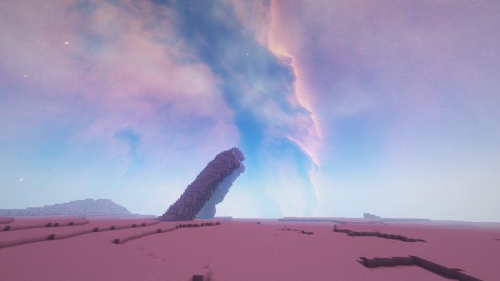 текстуры красивый космос небе для майнкрафт #9