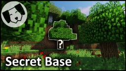 Hidden Redstone Tree Base Minecraft