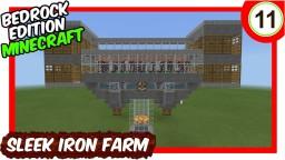 Sleek Iron Farm Bedrock Edition Minecraft Map & Project