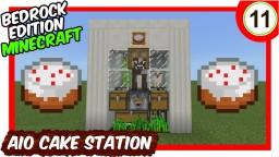 Semi Automatic Cake Making Station Bedrock Edition Minecraft Map & Project