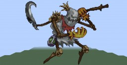 fiddlestick (League of Legends) (Pixel Art) Minecraft Map & Project