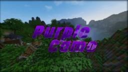 Purple Camo 128x Minecraft Texture Pack