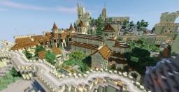 medieval church + schematics Minecraft Map & Project