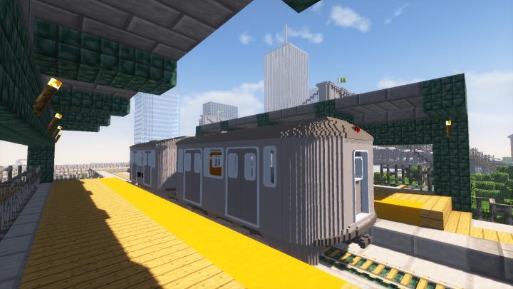 Vindex City  Southside Metro station.