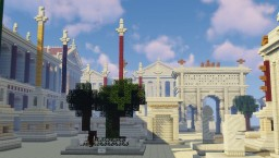 Forum Romanum Reconstruction (Near 1:1 Scale) (Historical) Minecraft