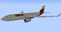 F'n'A Gaming Airbus A330-200 Iberia Minecraft Map & Project