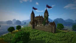 Andlau castle Minecraft Map & Project
