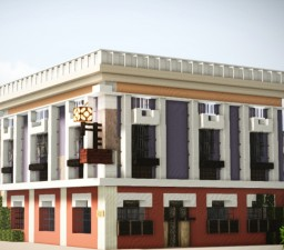 Taska dos Mercadores,  Loanda, Angola Minecraft