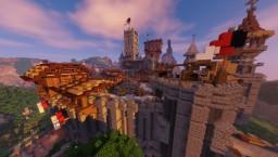 Hautvent, the jewel of Aurora Minecraft Map & Project