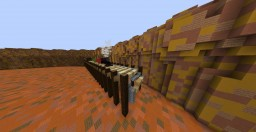 Western/Cowboy Spawn Minecraft Map & Project