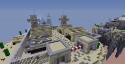 Skywars map// 4 teams of 5// desert army Minecraft Map & Project