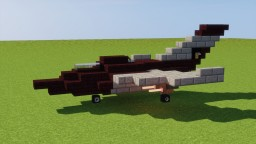 Fighter Jet Minecraft Map & Project