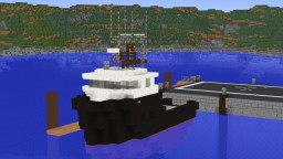 Fishing Boat- Serena Everett Minecraft Map & Project