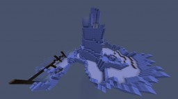 Snowy Mountain PVP Arena Minecraft Map & Project