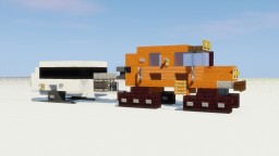 Tucker Sno-Cat with Caravan Minecraft Map & Project