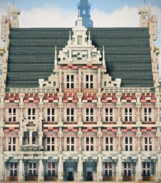 Rathaus Bocholt, Bocholt, Germany Minecraft Map & Project