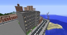 stone apartment and small shop Minecraft Map & Project