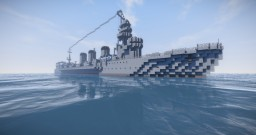 IJN Light cruiser KITAKAMI Minecraft Map & Project