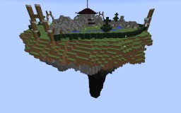 Epic flying Hub (Free download) Minecraft Map & Project