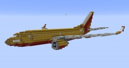 F'n'A Gaming Boeing 737-700 Southwest Golden Livery Minecraft Map & Project