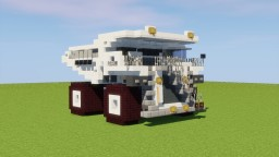 Liebherr Dump Truck Minecraft Map & Project