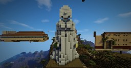 Big Hollow Grecian Statue Minecraft Map & Project