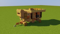 Old Threshing Machine Minecraft Map & Project