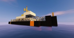 Coast guard ship 1 Minecraft Map & Project