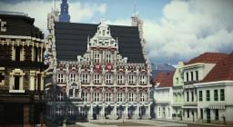 Rathausplatz, Bocholt, Germany Minecraft Map & Project