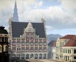 Rathausplatz, Bocholt, Germany Minecraft