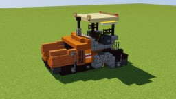 Road Paving Machine Minecraft Map & Project