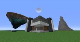 Modern Minimalistic House #1 Minecraft Map & Project