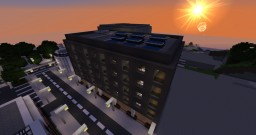 Apartment complex and shops Minecraft Map & Project