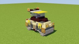 Road Roller Minecraft Map & Project