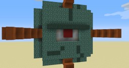 Guardian eye door Minecraft Map & Project