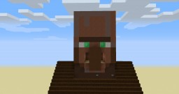 Village Face Piston Door Minecraft Map & Project