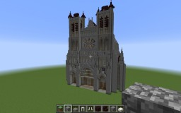 the gothic basilica of montpazier Minecraft Map & Project