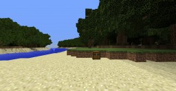 Hermit's Survival Island with Hidden Cove and Custom Trees Minecraft Map & Project