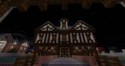 Tudor Style Home Minecraft Map & Project