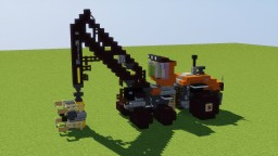 Wood Cutting Machine V2 Minecraft Map & Project