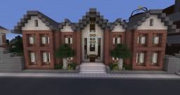 (Updated) Large Brick House Minecraft
