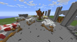 Medium Medieval Marketplace (1.8 x) schematic download Minecraft Map & Project