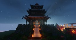 Asian Temple of the Dragon Minecraft Map & Project