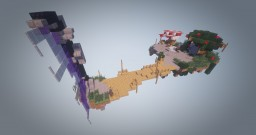 Ethereal floating Hub Minecraft Map & Project