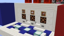 Redstone Rock Paper Scissors - 2 Players Minecraft