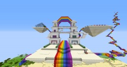 Rainbow World Minecraft Map & Project
