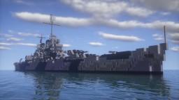 USS Helena CL-50   Light Cruiser   1:1 Scale Minecraft