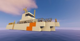 Coast guard ship 3 Minecraft Map & Project