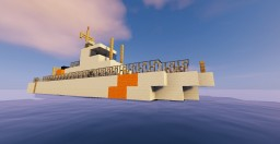 Coast guard ship 4 Minecraft Map & Project